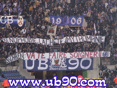Ultra Boys 90 / RC Strasbourg
